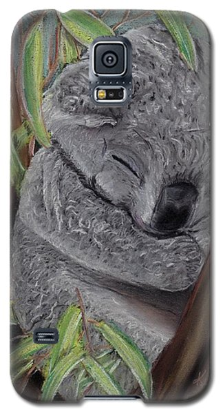 Shhhhh Koala Bear Sleeping Galaxy S5 Case