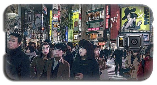 Shibuya Crossing, Tokyo Japan Poster 2 Galaxy S5 Case
