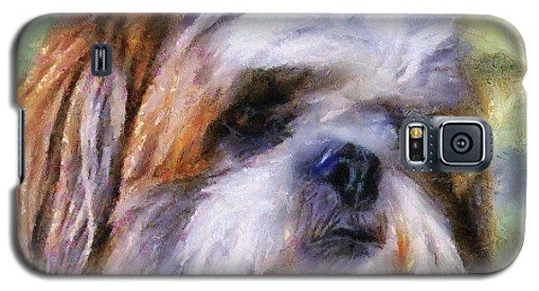Shih Tzu Portrait Galaxy S5 Case