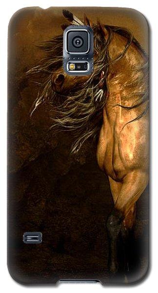 Shikoba Choctaw Horse Galaxy S5 Case by Shanina Conway