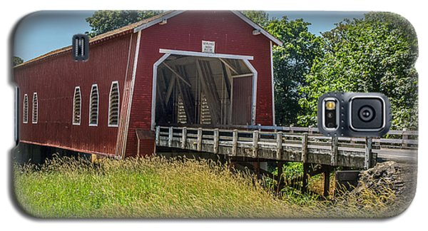 Shimanek Covered Bridge No. 2 Galaxy S5 Case