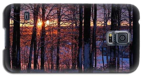 Shimmery Sunrise Galaxy S5 Case by Patricia Overmoyer