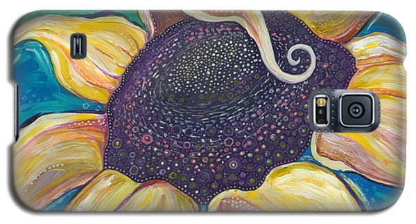 Galaxy S5 Case featuring the painting Shine Bright by Tanielle Childers