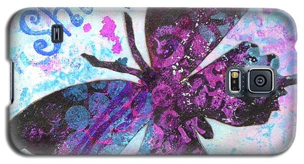 Shine Butterfly Galaxy S5 Case