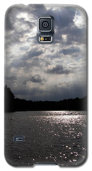Galaxy S5 Case featuring the photograph Shine On by Angie Rea