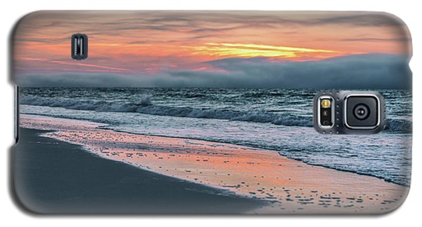 Galaxy S5 Case featuring the photograph Shine On Me Beach Sunrise  by John McGraw