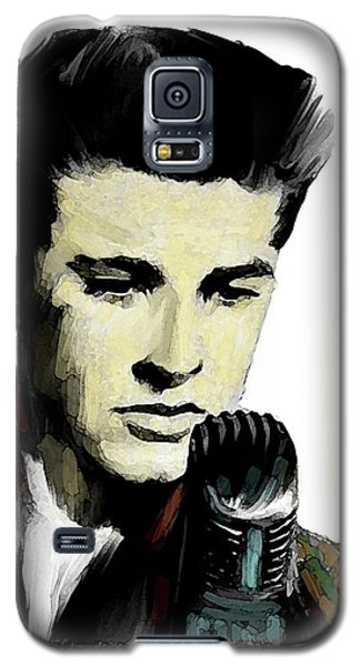 Shine On Youth  Ricky Nelson Galaxy S5 Case by Iconic Images Art Gallery David Pucciarelli