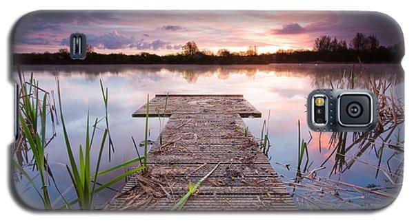 Shinewater Lake Sunrise Galaxy S5 Case