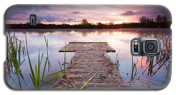 Shinewater Lake Sunrise Galaxy S5 Case