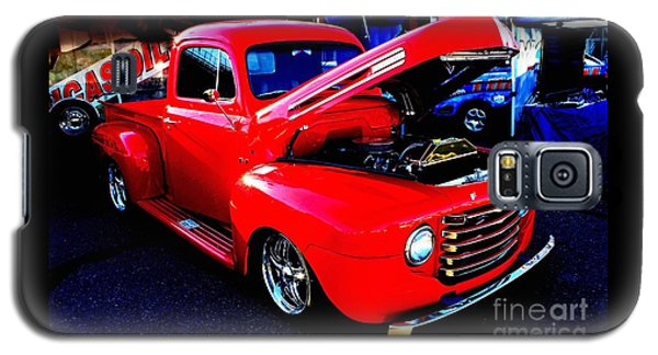 Shiny Red Ford Truck Galaxy S5 Case by Natalie Ortiz