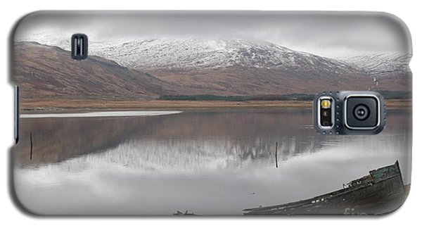 Ship Reck On Isle Of Mull Galaxy S5 Case