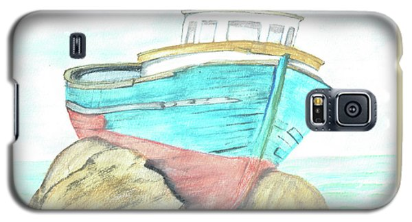 Ship Wreck Galaxy S5 Case by Terry Frederick
