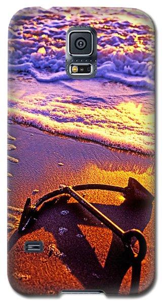 Ships Anchor On Beach Galaxy S5 Case