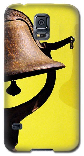 Galaxy S5 Case featuring the photograph Ship's Bell by Rebecca Sherman