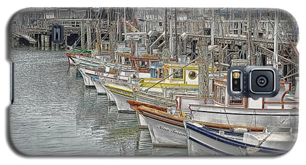 Ships In The Harbor Galaxy S5 Case