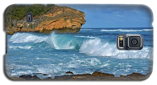 Shipwreck Beach Shorebreaks 2 Galaxy S5 Case