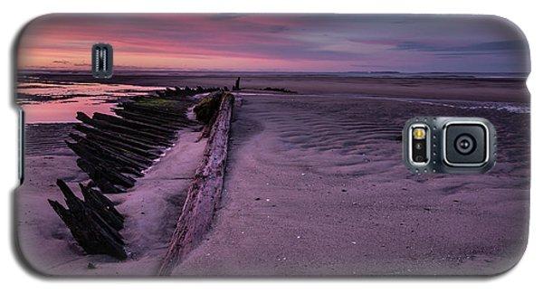 Shipwreck Sunrise  Galaxy S5 Case