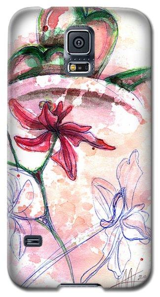 Shiraz Orchid II Galaxy S5 Case