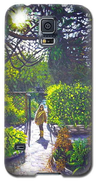Shirley At Chalice Well Galaxy S5 Case