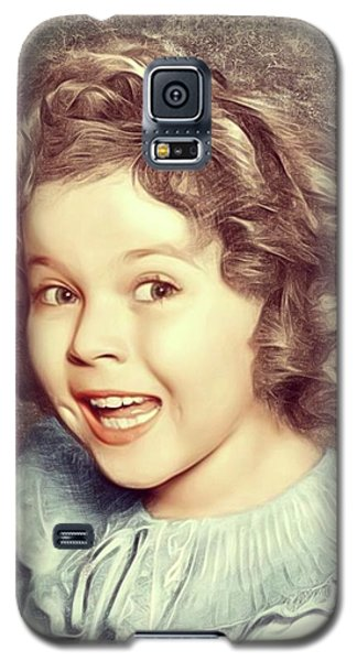 Shirley Temple Galaxy S5 Case - Shirley Temple, Actress by Mary Bassett