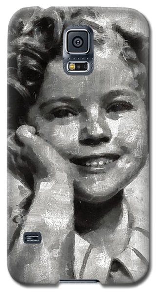 Shirley Temple Galaxy S5 Case - Shirley Temple By Mary Bassett by Mary Bassett