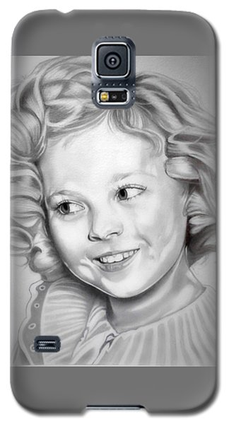 Shirley Temple Galaxy S5 Case - Shirley Temple by Fred Larucci