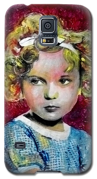 Shirley Temple Galaxy S5 Case - Shirley Temple by Marcelo Neira