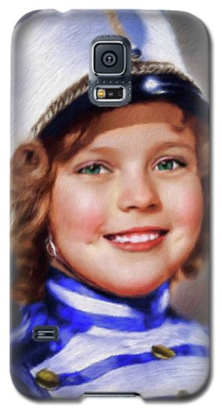 Shirley Temple Galaxy S5 Case - Shirley Temple, Vintage Actress by Mary Bassett