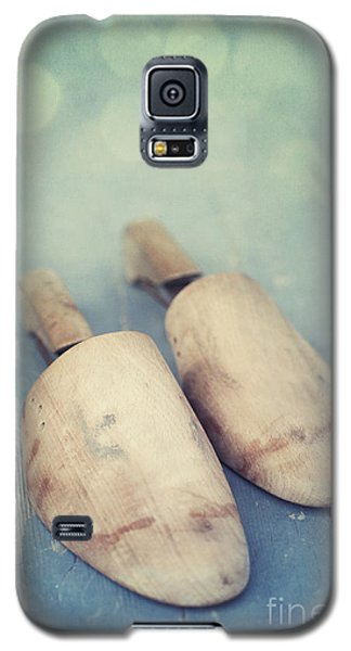 Still Life Galaxy S5 Cases - Shoe Trees Galaxy S5 Case by Priska Wettstein