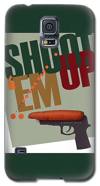 Shoot 'em Up Movie Poster Galaxy S5 Case