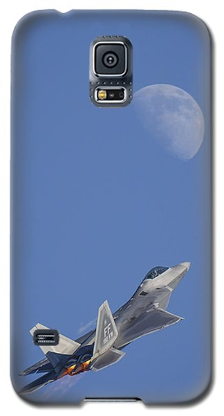 Galaxy S5 Case featuring the photograph Shoot The Moon by Adam Romanowicz