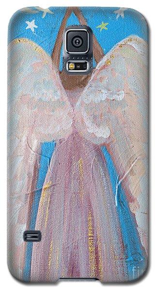 Shooting Star Angel Galaxy S5 Case