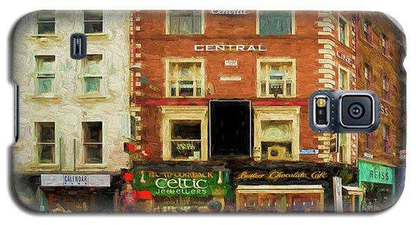shopping on Grafton Street in Dublin Galaxy S5 Case