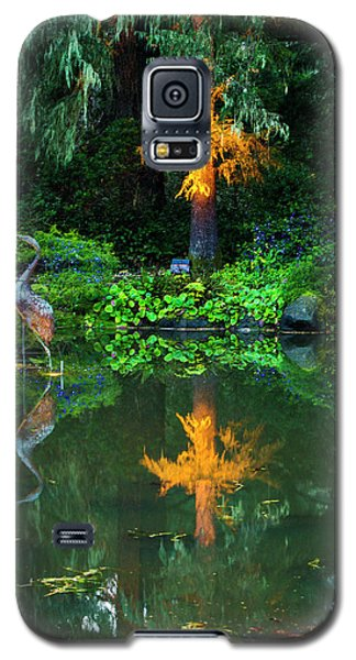 Galaxy S5 Case featuring the photograph Shore Acres Beauty by Dale Stillman