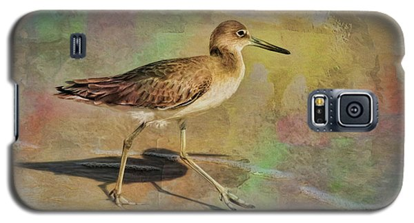 Galaxy S5 Case featuring the painting Shore Bird Beauty by Deborah Benoit