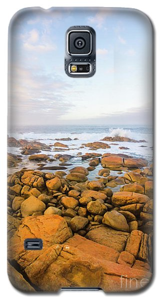 Galaxy S5 Case featuring the photograph Shore Calm Morning by Jorgo Photography - Wall Art Gallery