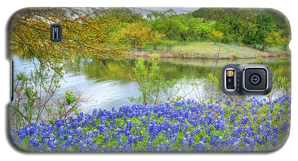 Shoreline Bluebonnets At Lake Travis Galaxy S5 Case