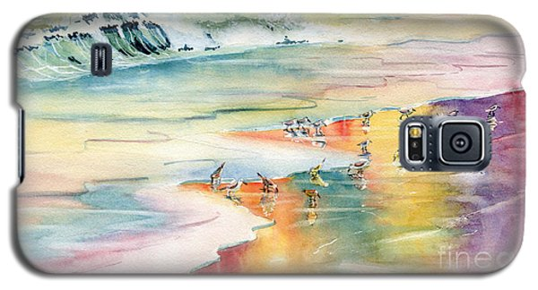 Shoreline Watercolor Galaxy S5 Case