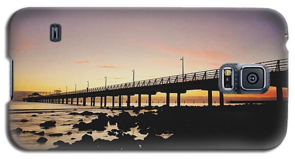 Shorncliffe Pier At Dawn Galaxy S5 Case