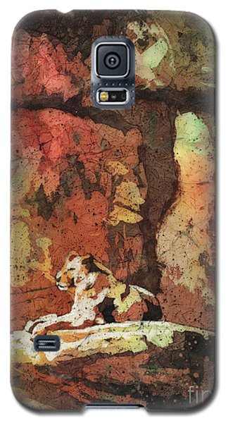 Galaxy S5 Case featuring the painting Short Reprieve by Ryan Fox