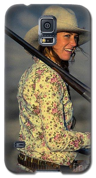Shotgun Annie Western Art By Kaylyn Franks Galaxy S5 Case