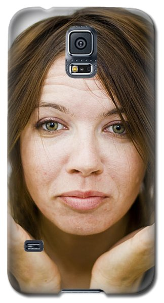 Galaxy S5 Case featuring the photograph Should I Get My Hair Cut by Gabor Pozsgai