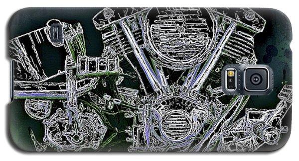 Harley - Davidson Shovelhead Engine Galaxy S5 Case