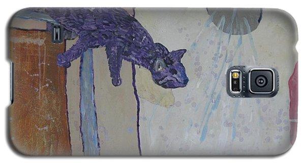 Shower Cat Galaxy S5 Case
