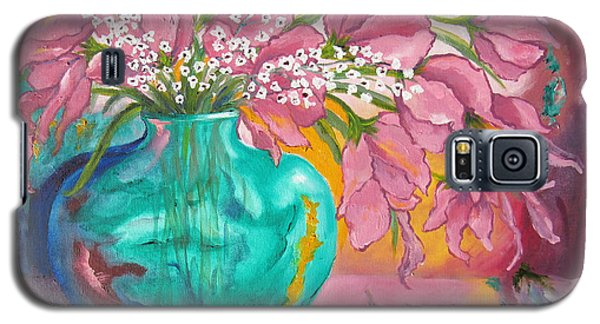 Shower Of Pink Galaxy S5 Case