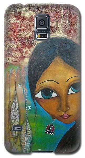 Shower Of Roses Galaxy S5 Case