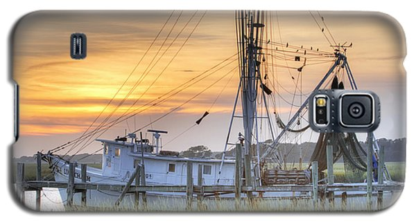 Shrimp Boat Sunset Charleston Sc Galaxy S5 Case