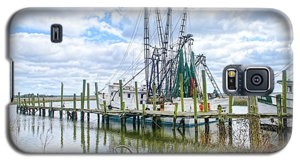 Shrimp Boats Of St. Helena Island Galaxy S5 Case
