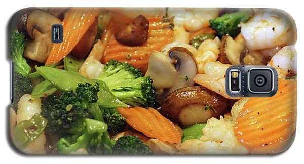 Galaxy S5 Case featuring the photograph Shrimp Stir Fry #1 by Ben Upham III
