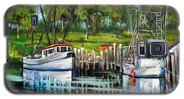 Shrimping Boats Galaxy S5 Case